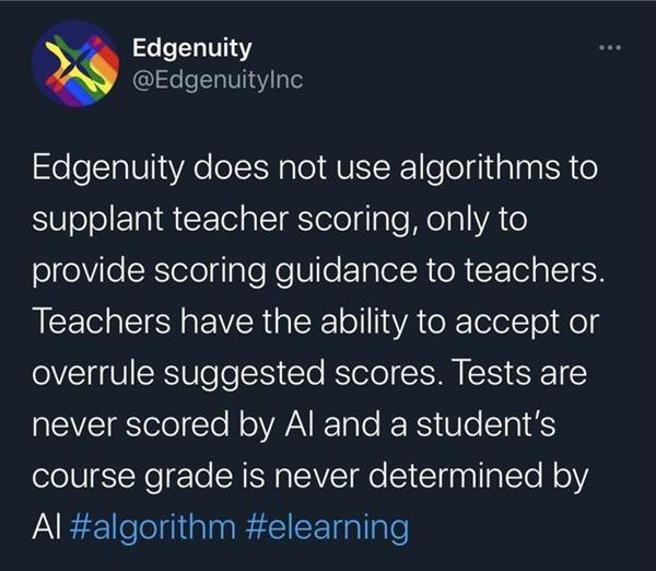 美国学校开始用AI智能对试卷打分 学渣们完成逆袭拿高分