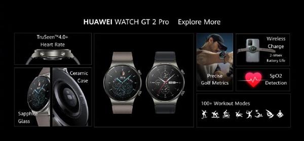 Huawei, WATCH GT 2 Pro'yu piyasaya sürdü: Profesyonel yörünge kaybolmadan geri dönüyor