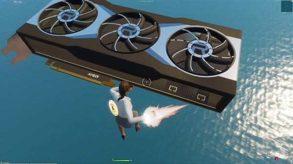 AMD花式秀RX 6000系列显卡:《堡垒之夜》创意岛上展示