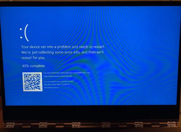 【速搜资讯】Windows 10又现诡异Bug 使用Chrome访问特定路径立即蓝屏