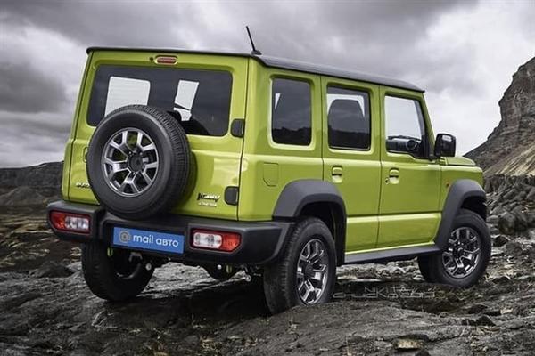 全球最小硬派SUV推加长版!更像奔驰G了