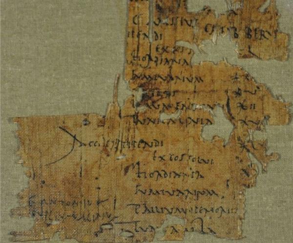 考古学家发现古罗马士兵工资单:到手竟等于0