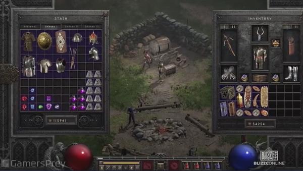 《暗黑破坏神2:重制版》实机演示:画面巨变 迫不及待想玩