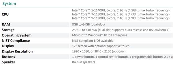 Intel 10nm 45W游戏本规格泄露:八核怒上5.0GHz