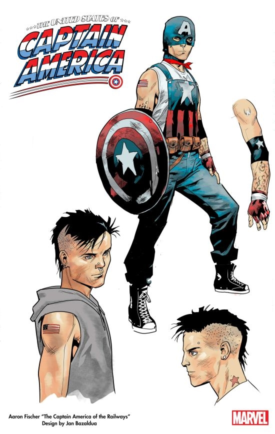 Marvel will launch the first gay Captain America role model has been exposed