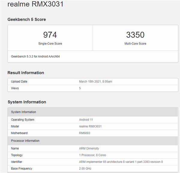 First ride on Dimensity 1200! Realme GT Neo running points released: multi-core beats the Snapdragon 870