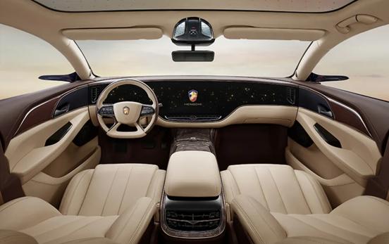 Mercedes-Benz EQS interior exposed!  Netizens exclaimed: Hengchi 1?