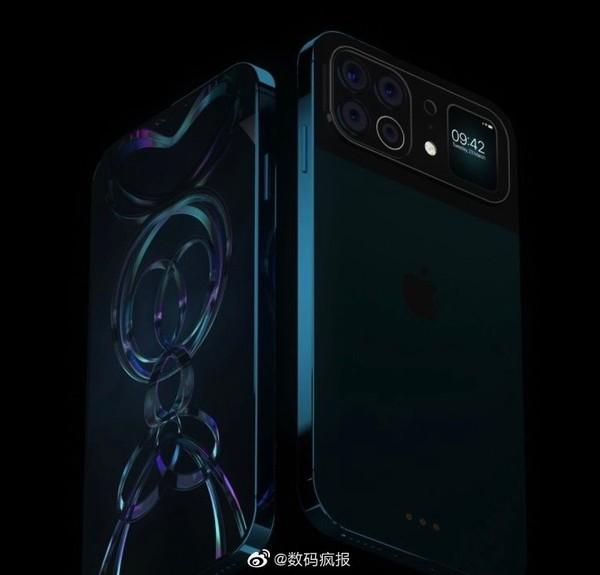 撞脸小米11 Ultra!iPhone最新概念图曝光:背部副屏吸睛
