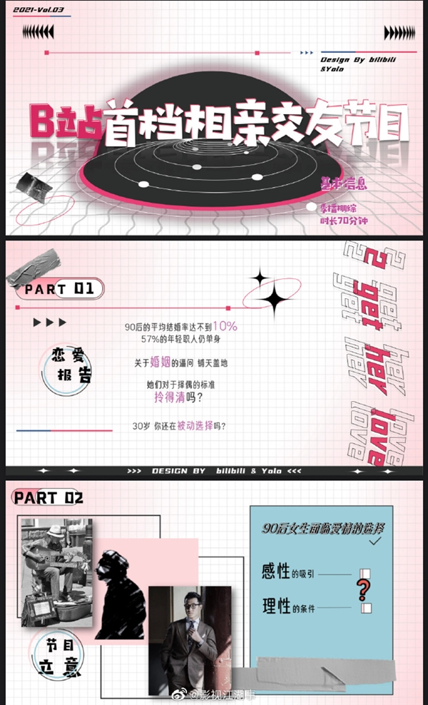 """B站注册""""九零婚介所""""商标引热议 网友:二次元相亲节目?"""
