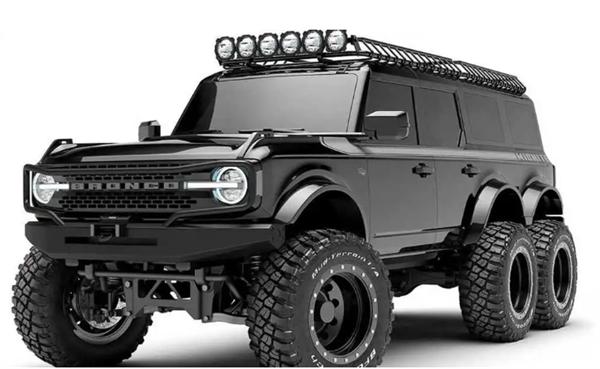 GTA同款!定制改装福特Bronco 6x6曝光 上路回头率100%