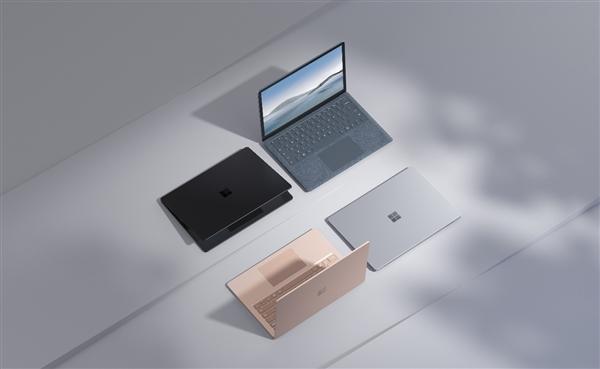 微软Surface Laptop 4正式发布:Intel/AMD双平台 起售价8288