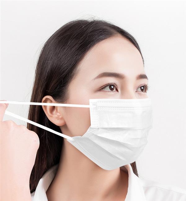 灭菌级维德医疗一次性医用外科口罩:100只仅19元