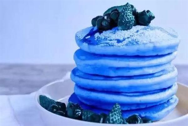 嘘~~我发现了减肥密码 只要把食物都做成蓝色的