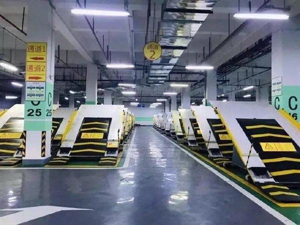 重庆推高能停车库:半坡斜置式停车 车位增加近一倍