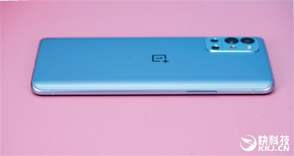 可能是最好120Hz柔性直屏!一加9R蓝屿版开箱图赏