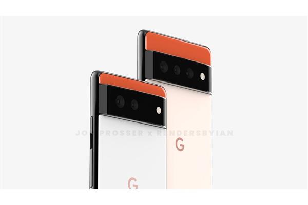 Android 12旗舰谷歌Pixel 6/6 Pro外形首曝 爆料人:设计狂野
