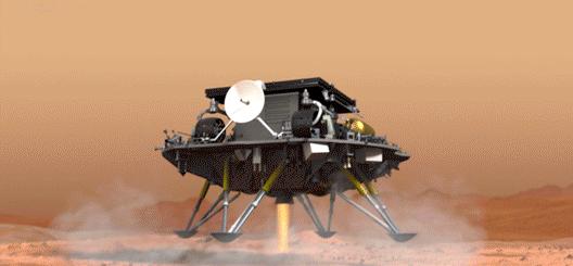 天问一号火星车发布首条微博 网友调侃:这是假的 它没用火星文