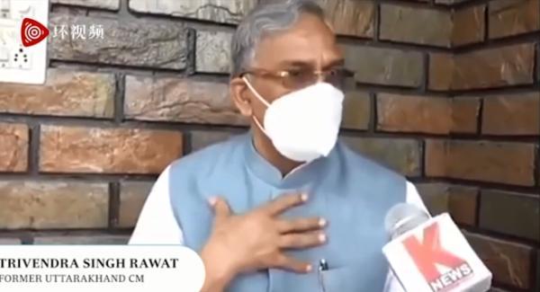 印度政客:新冠病毒也有生存的权利 人们要超过病毒传播速度