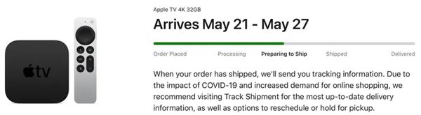 新款Apple TV 4K准备发货:配A12处理器