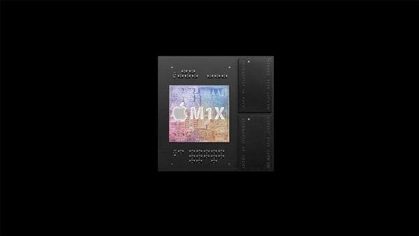 苹果M1X性能曝光:32核GPU媲美RTX 3070、节省一半功耗