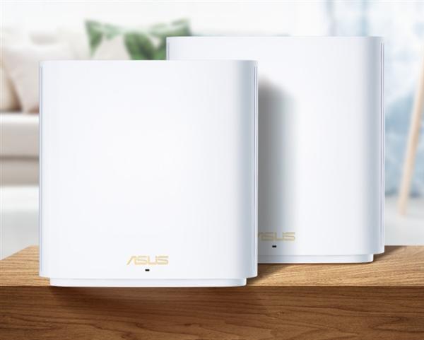 华硕发布新款Wi-Fi 6路由器:两只装 覆盖500平