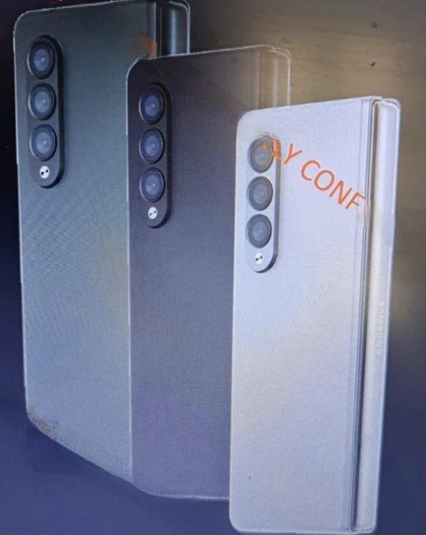 骁龙888真全面屏 三星Galaxy Z fold3将用屏下摄像头:终结挖孔屏