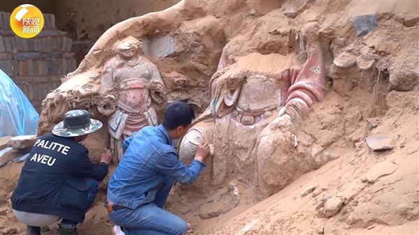 陕西沙漠下现罕见明长城营堡:清代被废弃