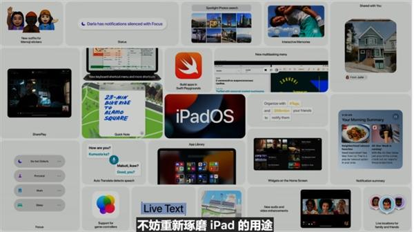 """苹果iPadOS 15特性汇总:生产力表现提升 告别""""买后爱奇艺"""""""