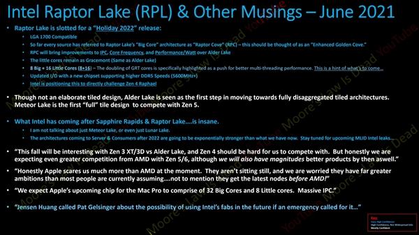"Intel 13代酷睿上24核心:再往后无比""疯狂"""
