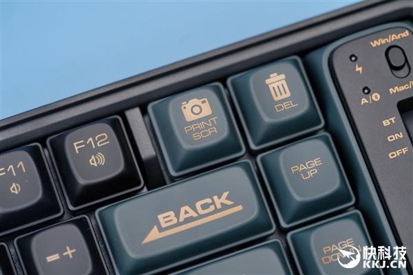 """""""浪""""的飞起!洛斐小浪蓝牙机械键盘图赏"""