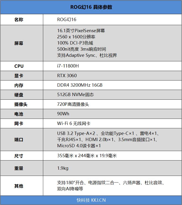 Intel笔记本终于反杀!ROG幻16评测:11代H45小胜Zen3