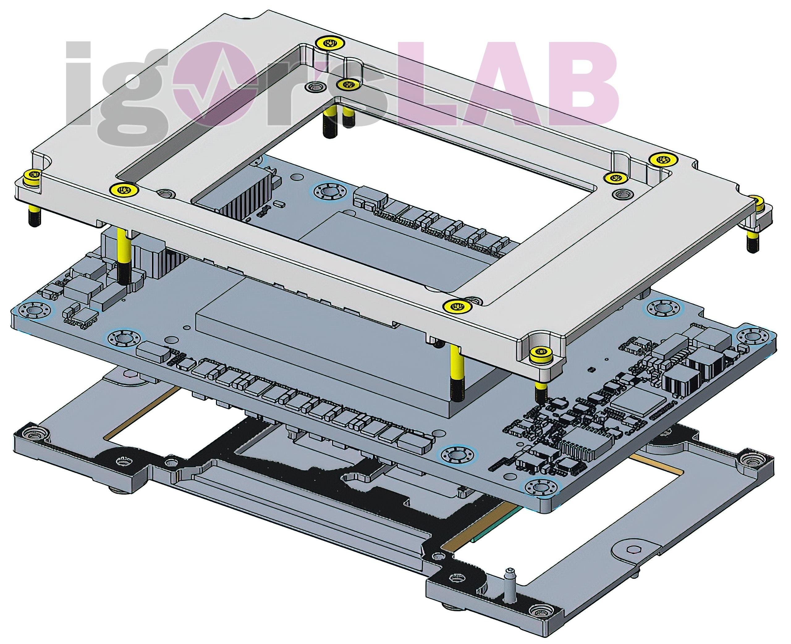 Intel顶级显卡功耗超600W!标配水冷、五层结构