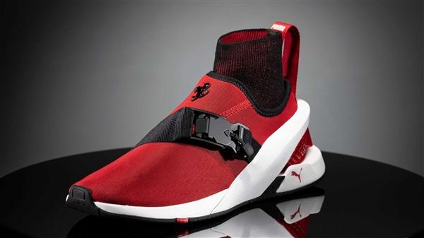 继承插电烈马SF90设计理念!法拉利推联名跑鞋