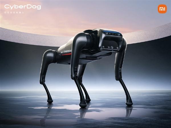 """小米仿生四足呆板人CyberDog:定名""""铁蛋"""""""