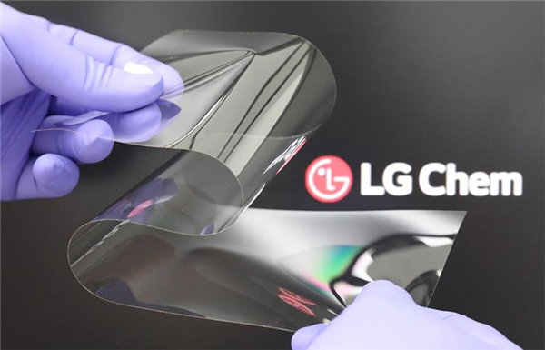 LG研发出新型可折叠材料:像玻璃一样坚硬 几乎没有折痕