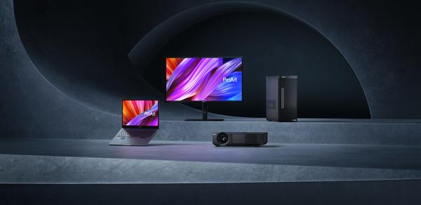华硕ProArt发布会大招频出 全新OLED专业显示器齐亮相!