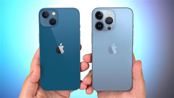 芯片短缺 消息称苹果iPhone 13订单砍掉1000万部!